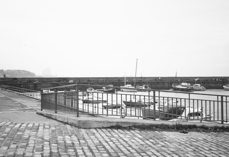 Newhaven Harbour. General view looking West.