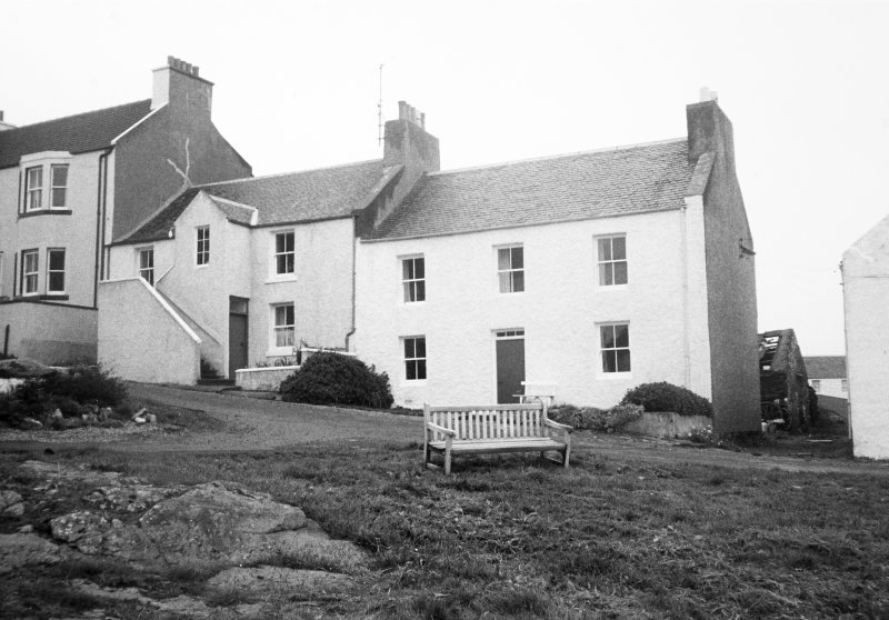 Bruthach An Doillair, Port Charlotte, Islay. General view from front.