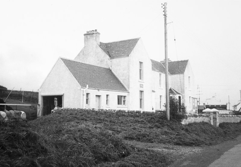 Police Station and Lochview, Rathad Na Roinne, Port Charlotte, Islay.