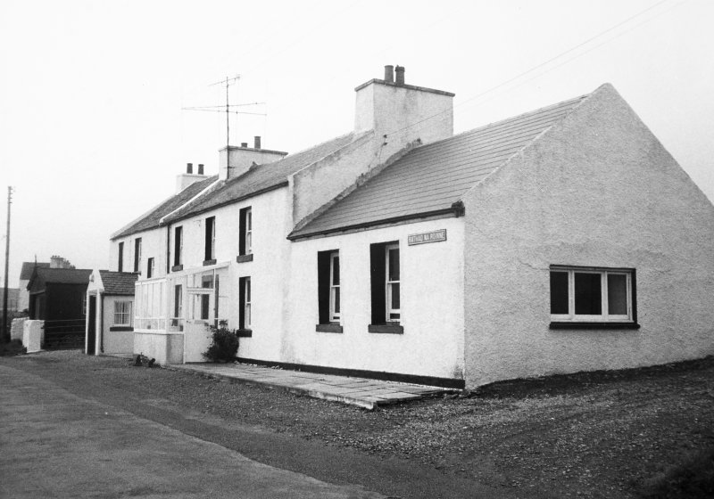 Old Blacksmith's House, Rathad Na Rainne, Port Charlotte, Islay. General view from street front.