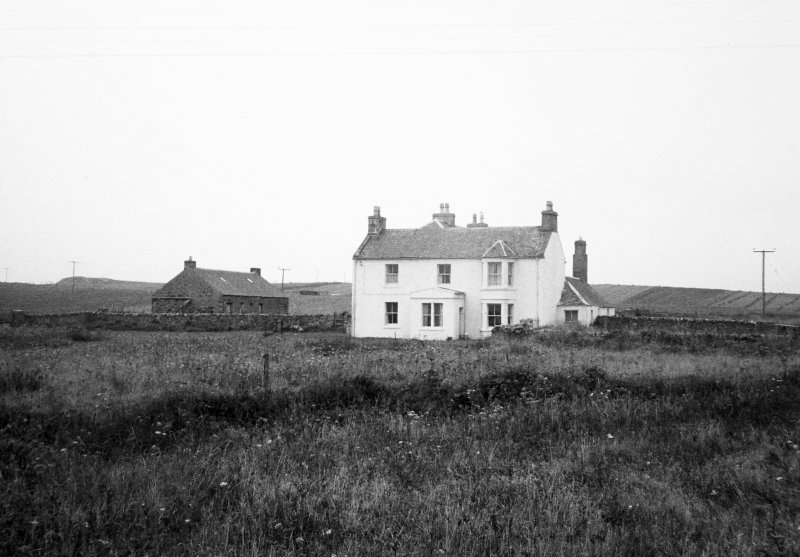 Old Manse, Portnahaven, Islay. View from South-East.