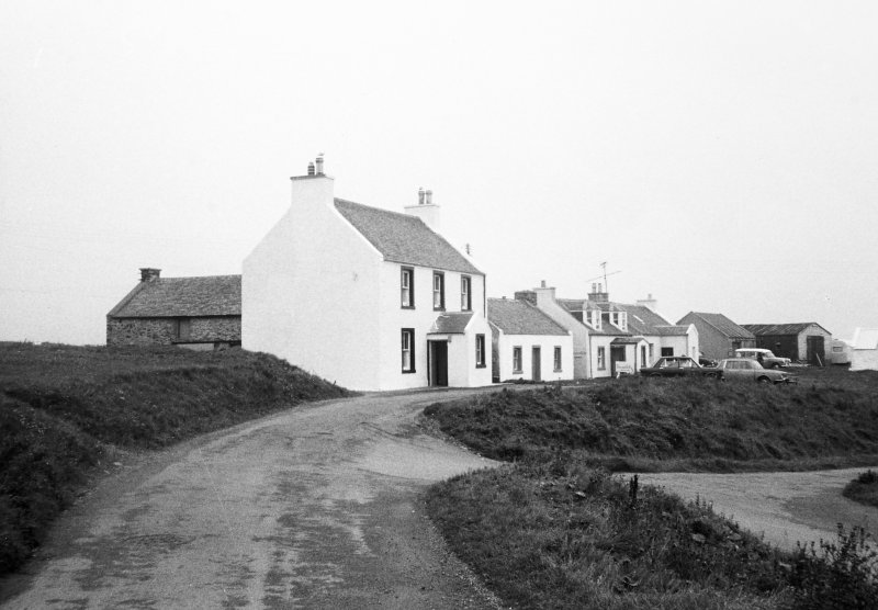 Atlantic View, Portnahaven, Islay. General view of rear.