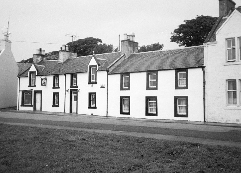Ardview Hotel, Frederick Crescent, Port Ellen. View from South-West.