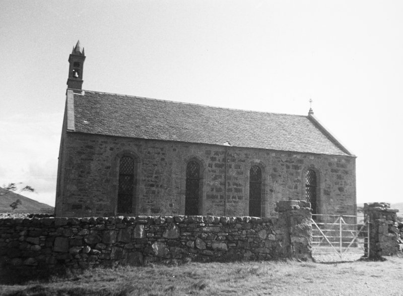 Mull, Kinlochspelve Church. General view from South.