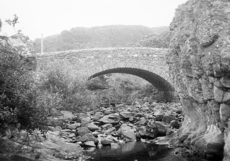 Muasdale Old Bridge. General view.
