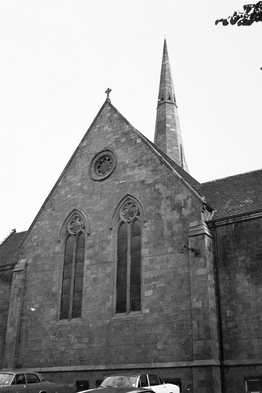 Glasgow, 71, 73 Claremont Street, Trinity Congregational Church. View from North.