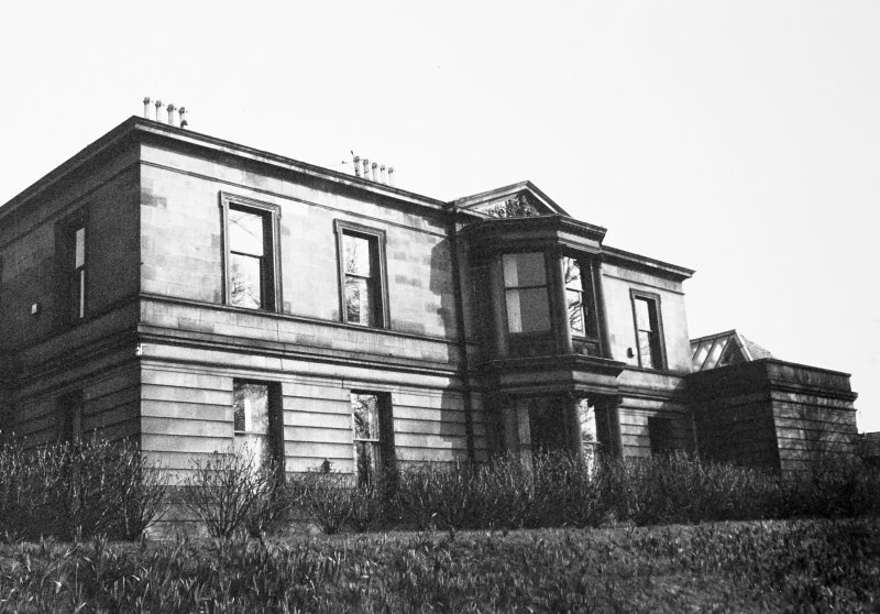 Glasgow, 6 Rowan Road, Craigie Hall. View from North-West.