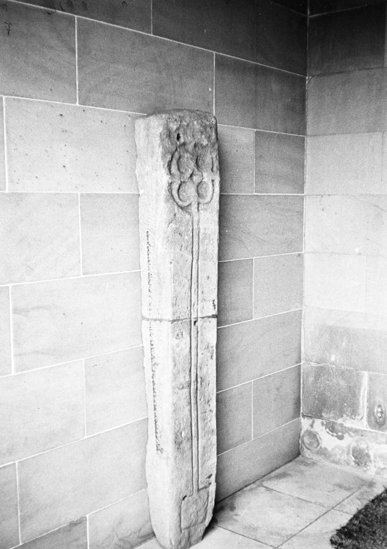 Interior. View of celtic cross.