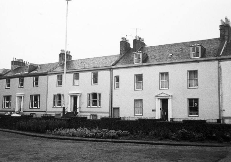 General view of nos. 22-24 Wellington Square from N.