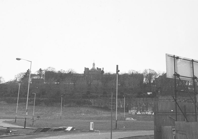 View from South with Infirmary in distance.
