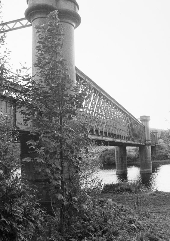 Logierait Railway Viaduct. General view.