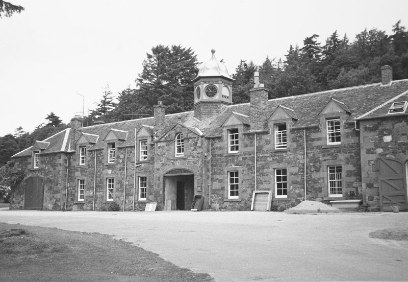 Moncrieffe House, Stables. General view.