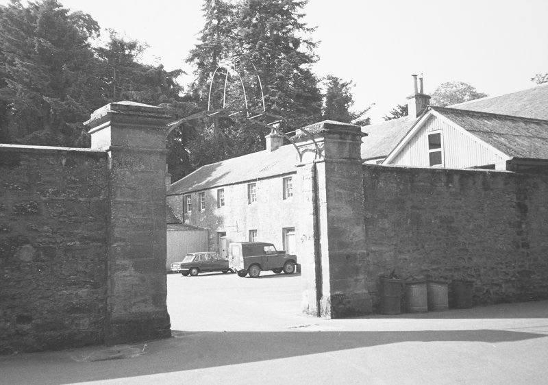 Scone Palace, Stables. General view.