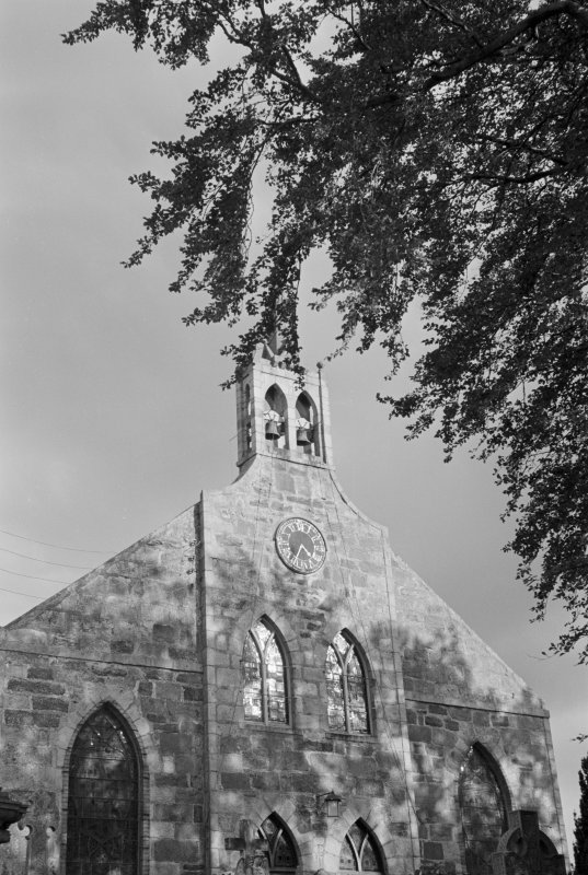 View of gable, Fyvie Church.