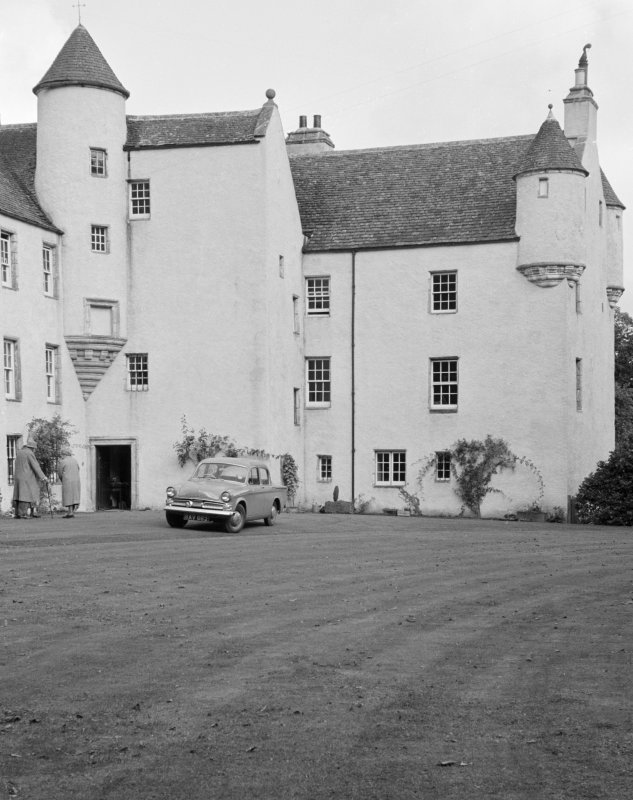 View of Balbithan House from SW.