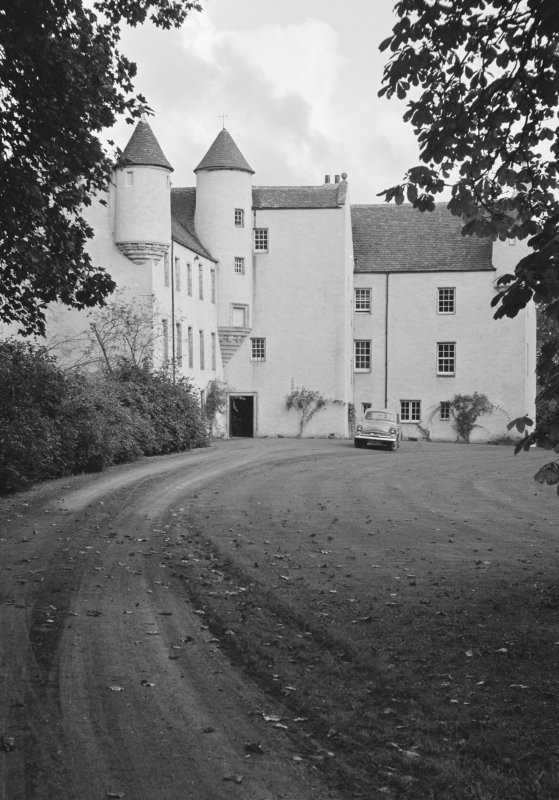 View of Balbithan House from W.