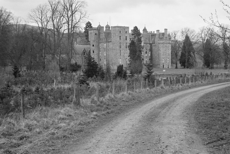 General view of Aboyne Castle from SW.