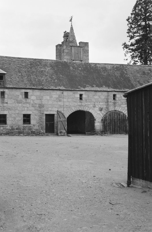View of farmbuildings, Aboyne Castle.
