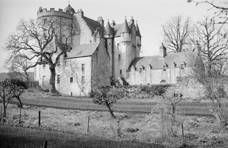 View of Midmar Castle from NE.