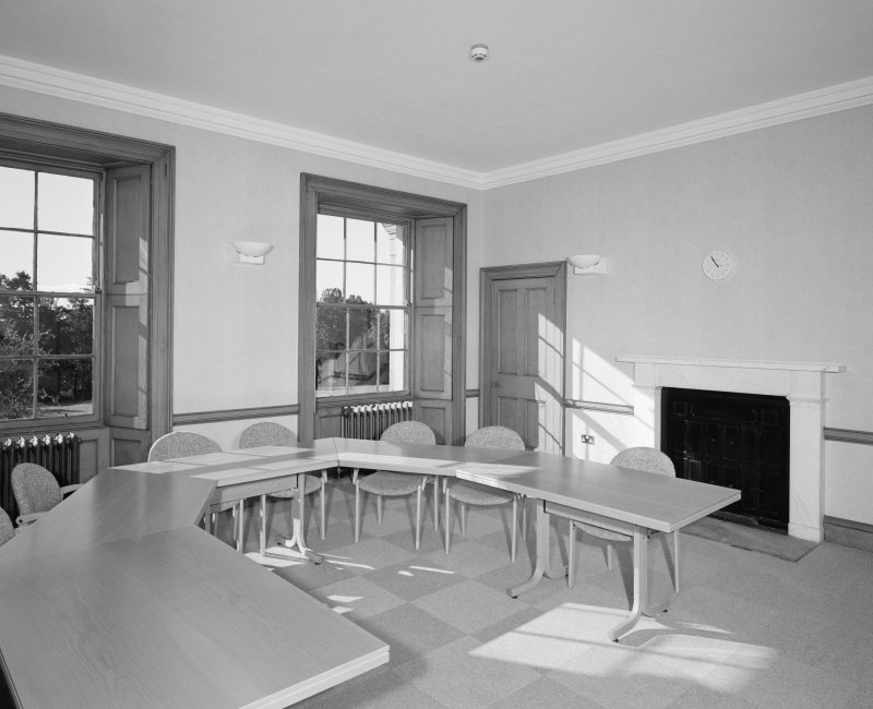 Dundee, Camperdown House, interior View from North East, Bedroom, First Floor,