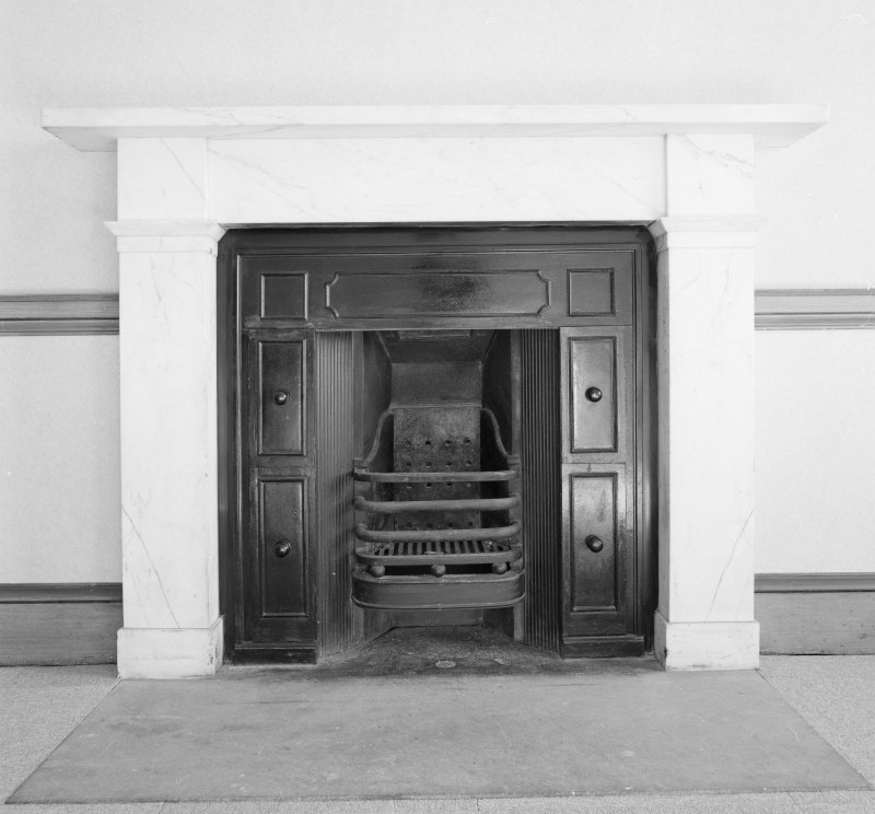 Dundee, Camperdown House, interior Detail of Fireplace, Dressing Room, First Floor