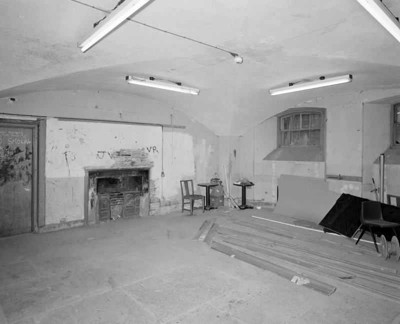 Dundee, Camperdown House, interior. View from South East, Laundry, Basement