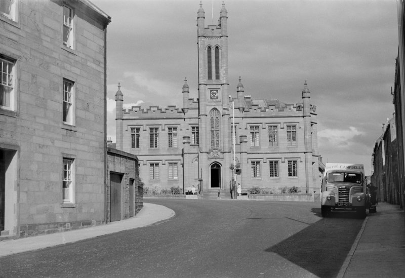 View of Mechanics Institute, Brechin, from W.