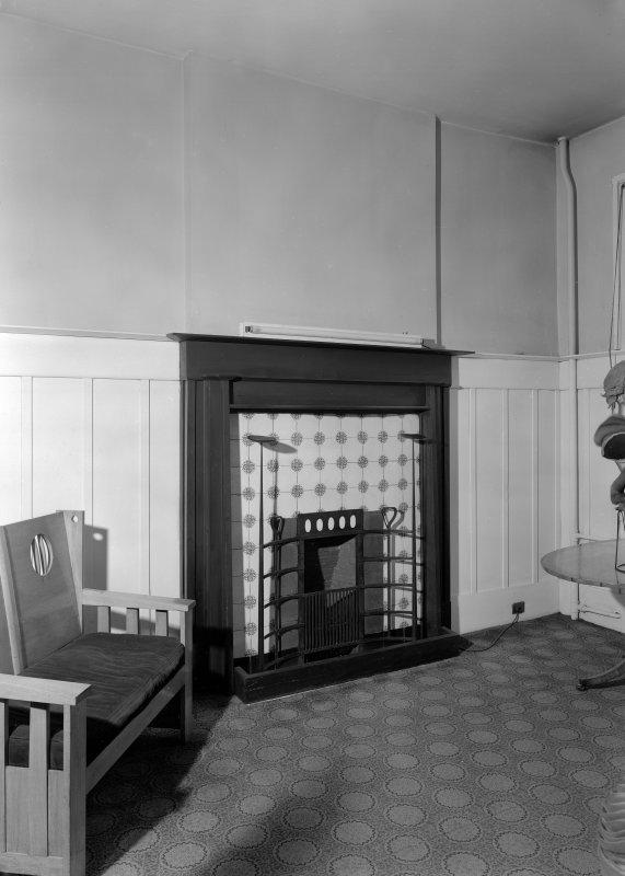 View of fireplace, Daly's Department Store, Sauchiehall Street, Glasgow.