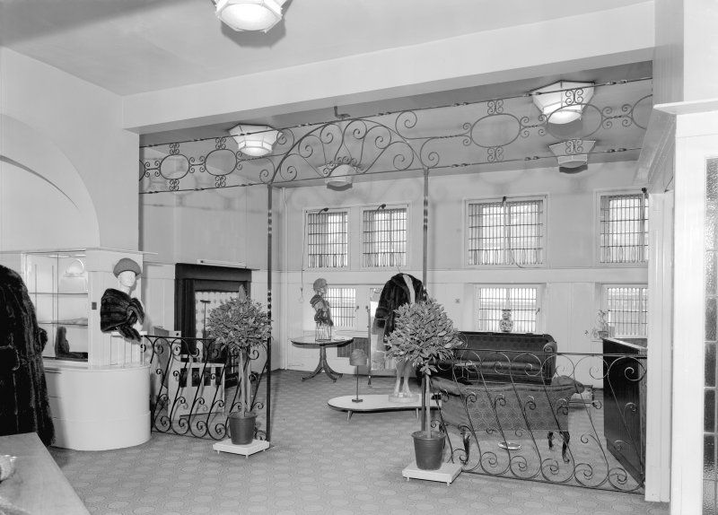 View of shop floor, Daly's Department Store, Sauchiehall Street, Glasgow.