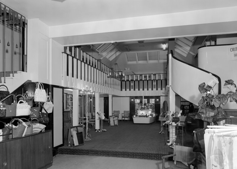 General view of shop floor, Daly's Department Store, Sauchiehall Street, Glasgow.
