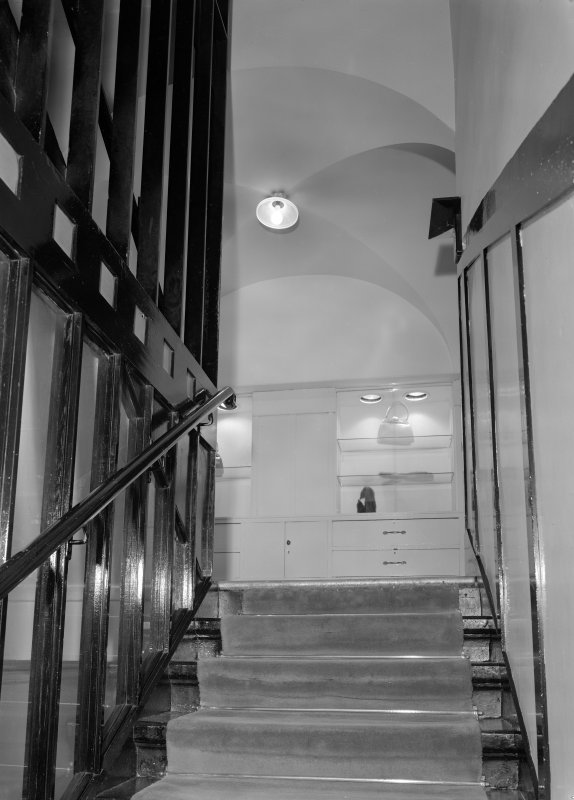 View of staircase, Daly's Department Store, Sauchiehall Street, Glasgow.