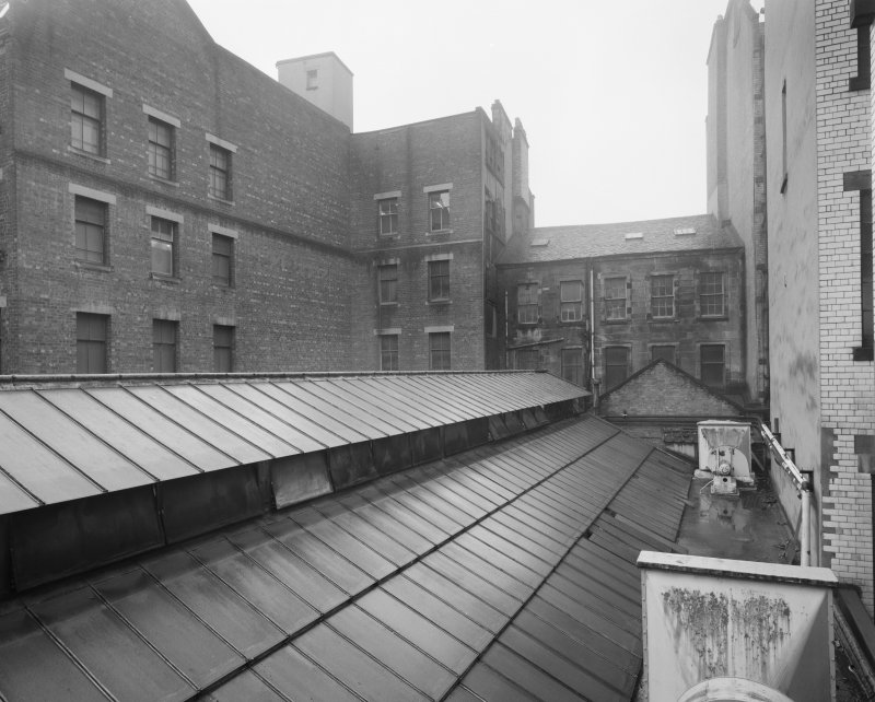 View of rear of Glasgow Herald Building, Mitchell Street, Glasgow, from E.