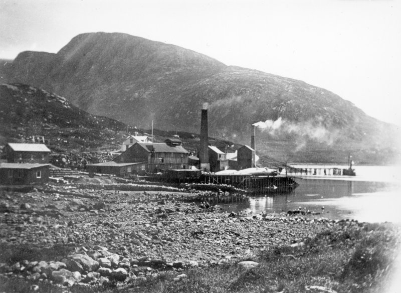 View of whaling station