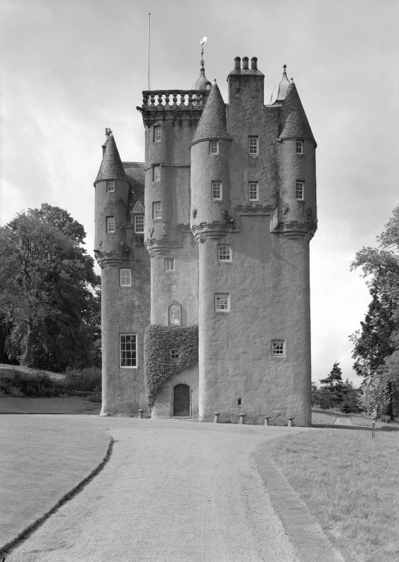 View of Craigievar Castle from NE.
