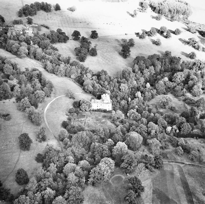 Minto House Aerial view from West South West