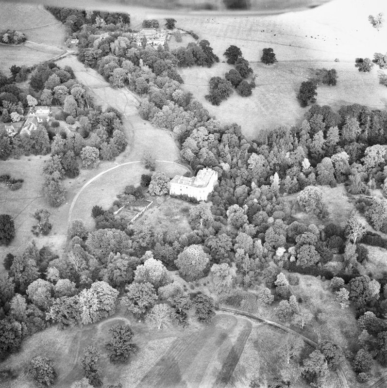 Minto House Aerial view from South West