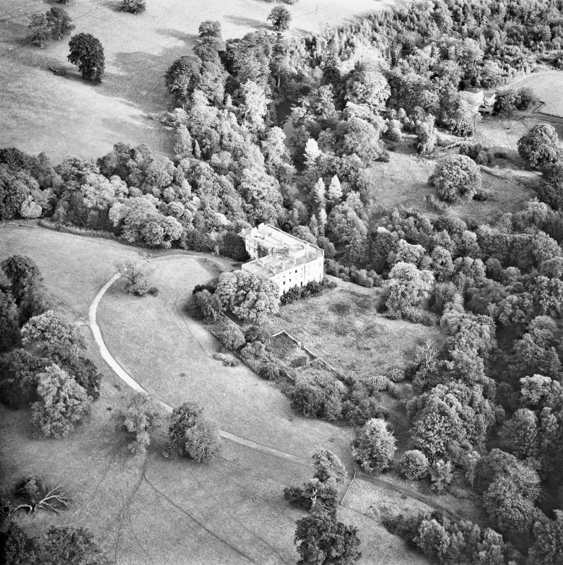 Minto House Aerial view from West