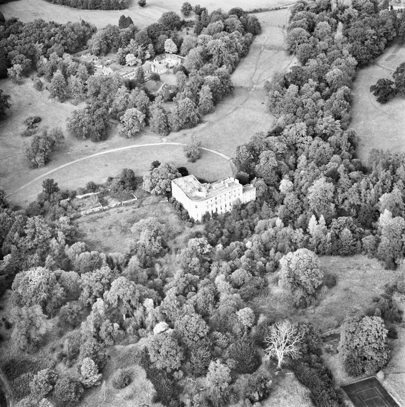 Minto House Aerial view from South