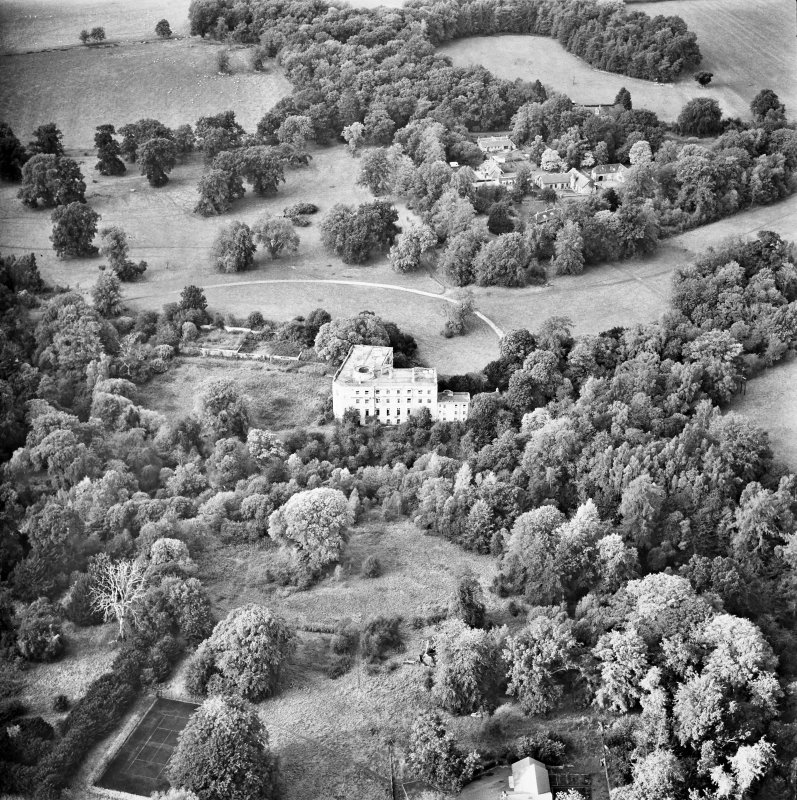 Minto House Aerial view from South East