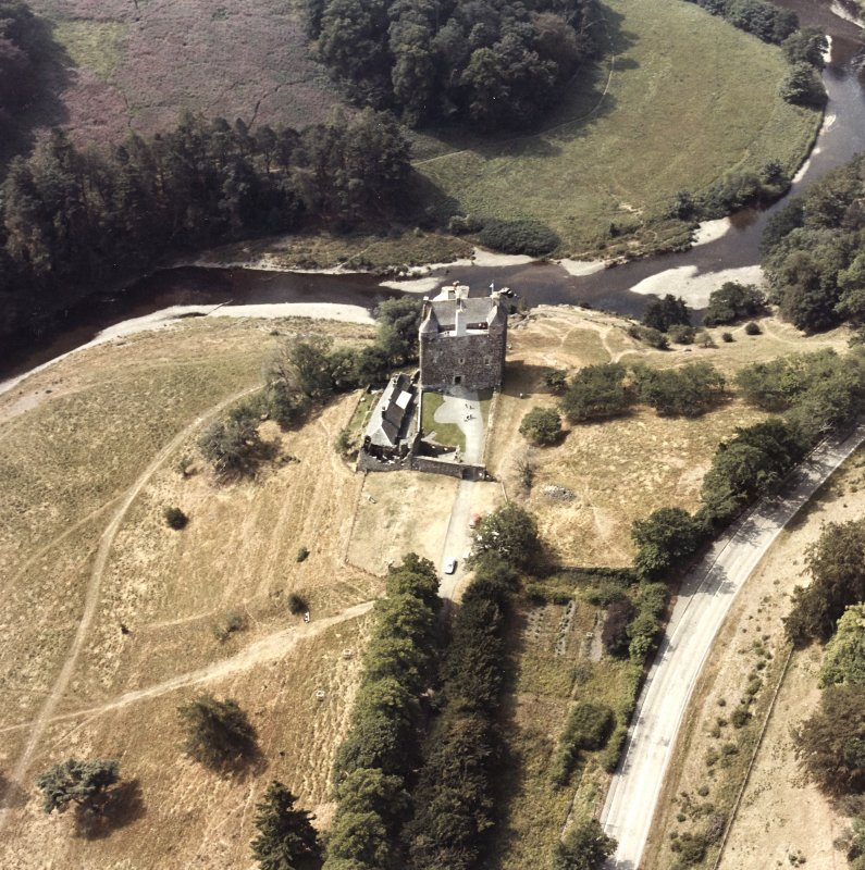 Nedipath Castle Aerial view
