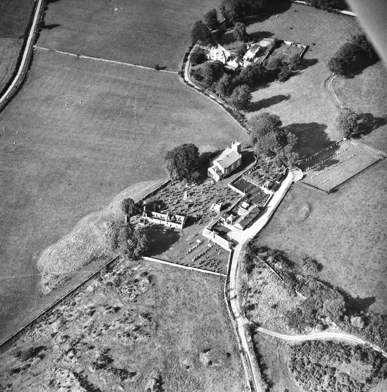 Oblique aerial view.