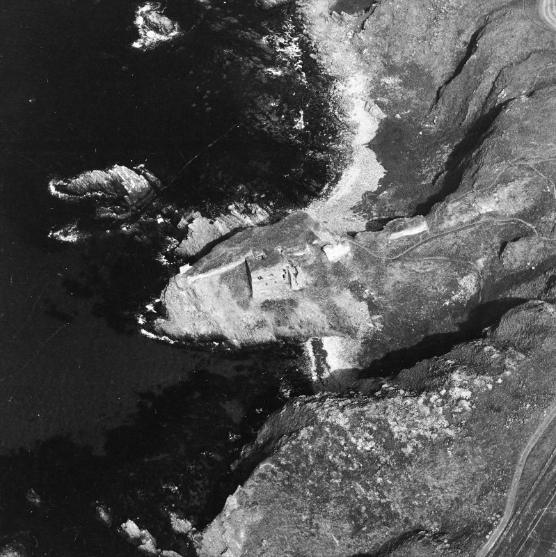 Oblique aerial view from West.