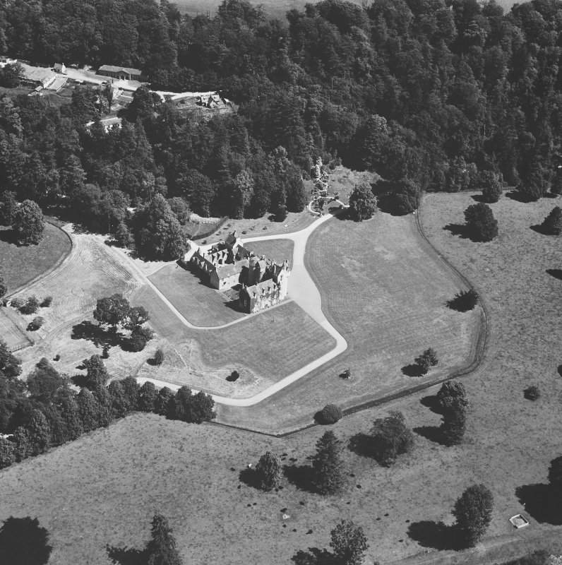 General oblique aerial view from SW.
