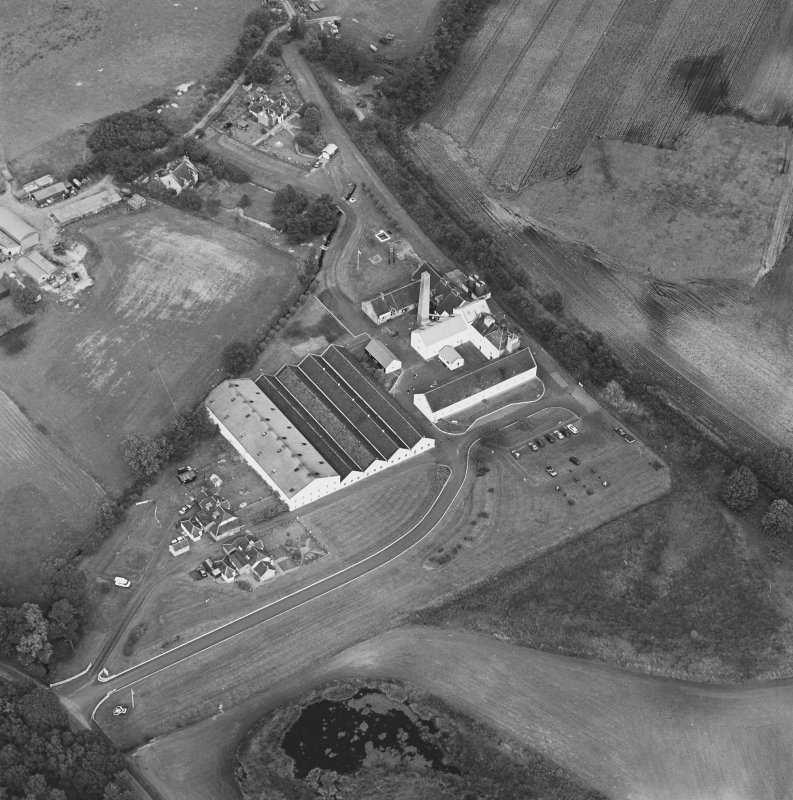 Oblique aerial view from SSW.