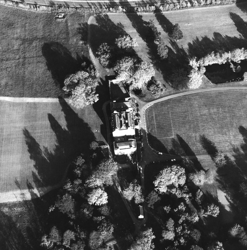 Aerial view of Culloden House