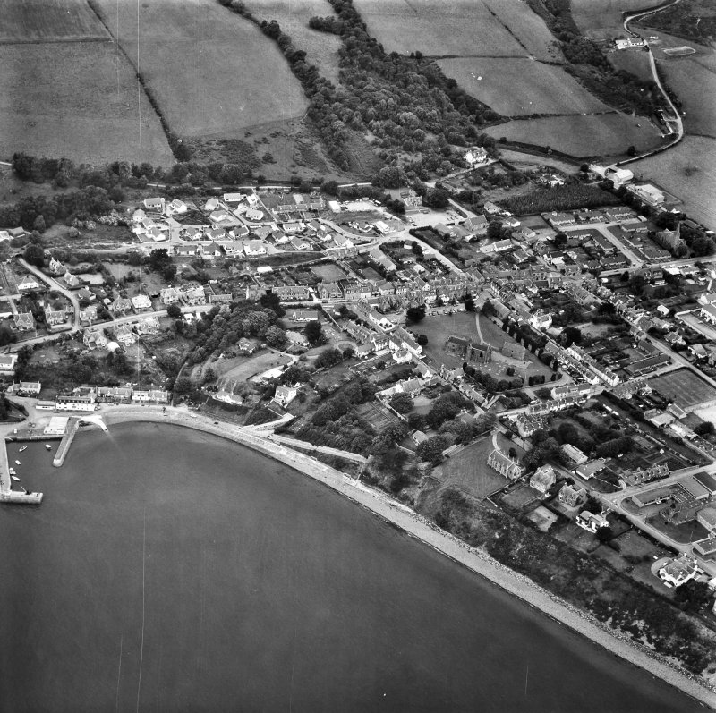 Fortrose. Aerial view.