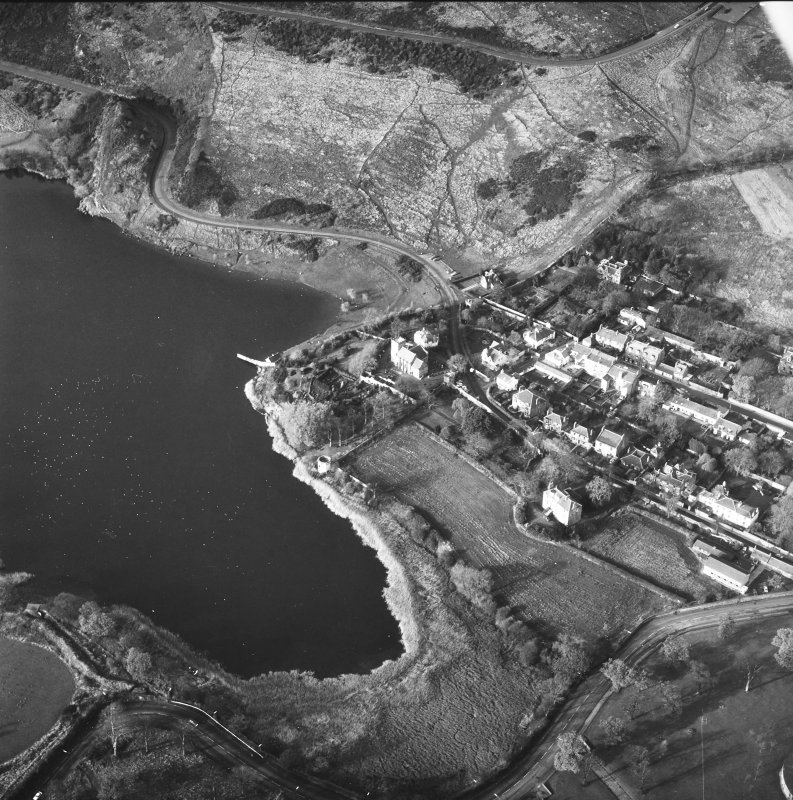 Duddingston Village and Loch Aerial view from South East