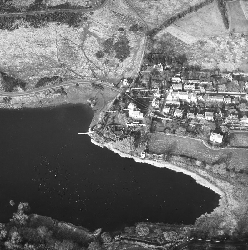 Duddingston Village and Loch Aerial View from South