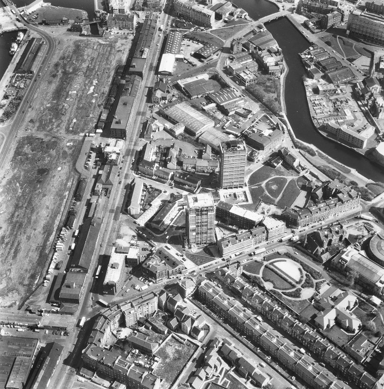 Leith. Aerial view.