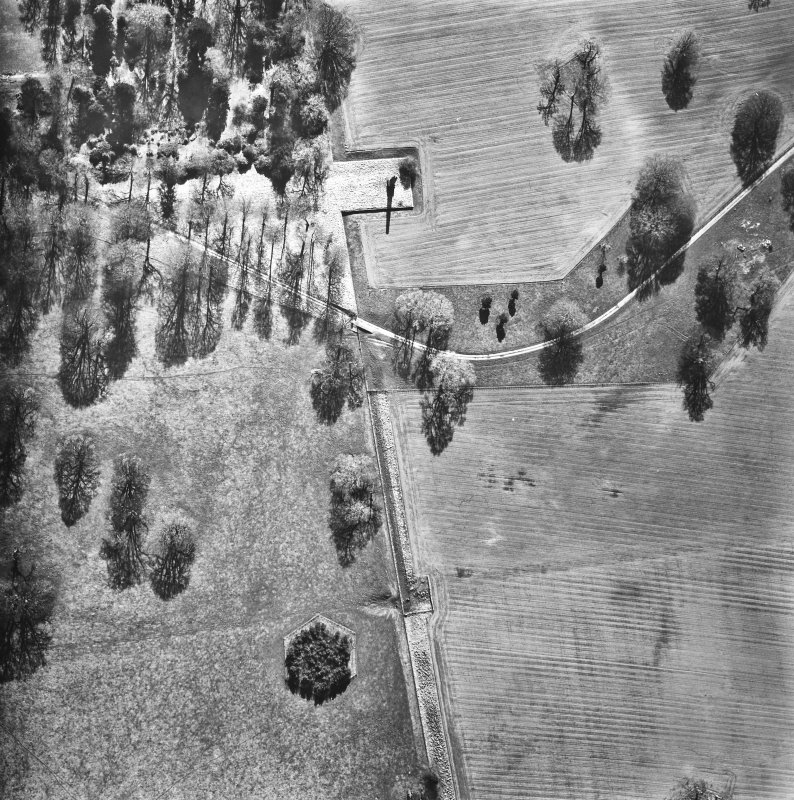 Aerial view of the avenue. RCAHMSAP 81 The Avenue